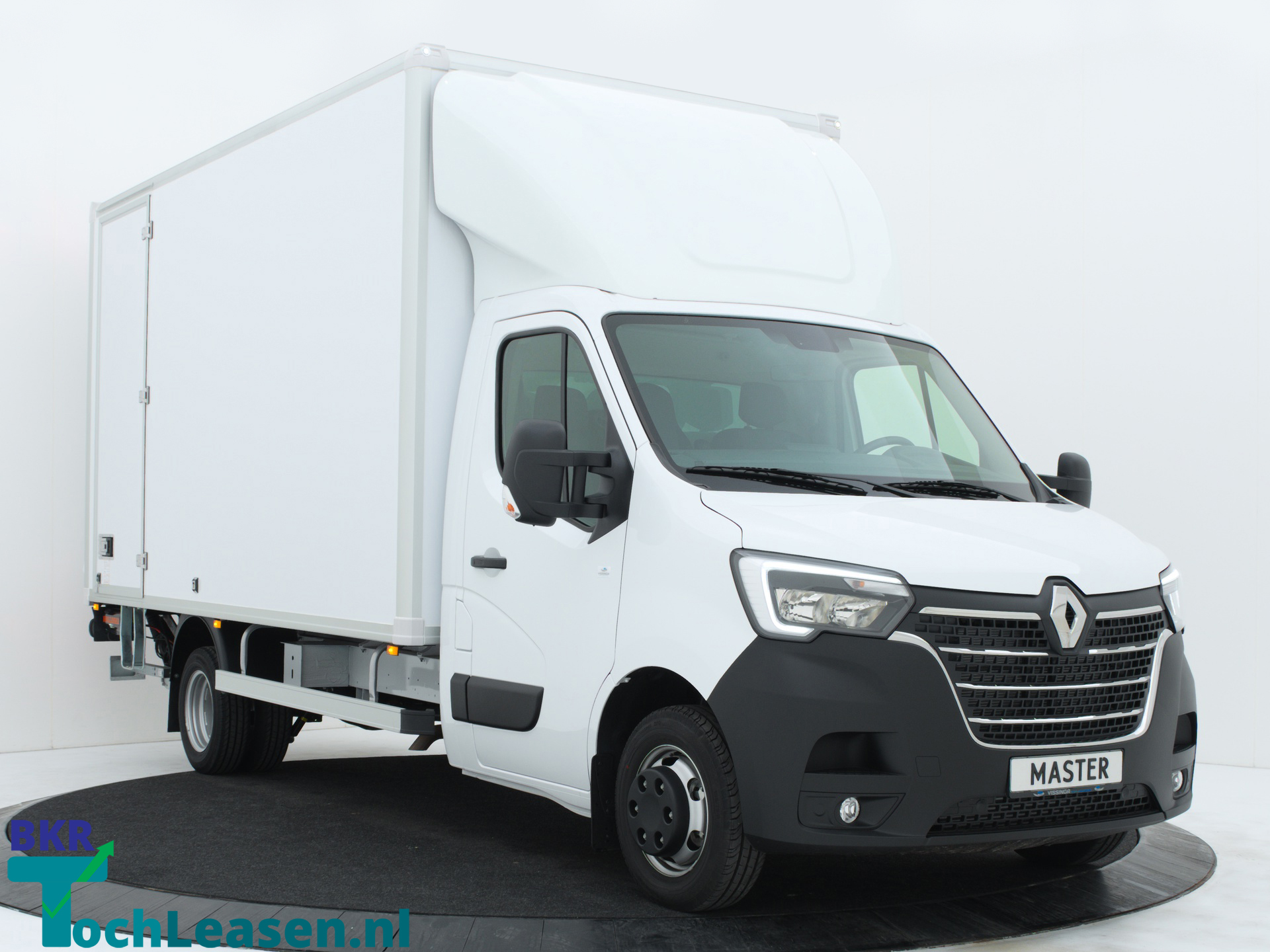Renault Master bakwagen RWD schuinvooorkant 2 BKR toch Leasen