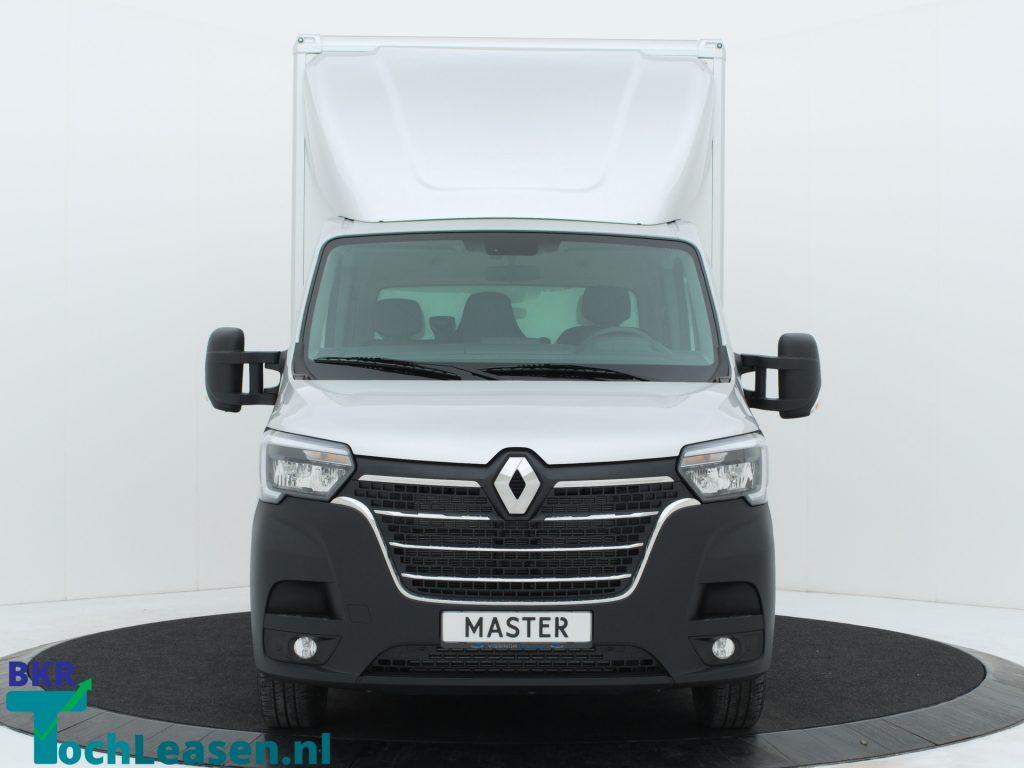 Renault Master bakwagen voorkant zilver BKR toch Leasen