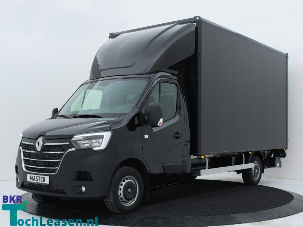 Renault Master bakwagen voorkant zwart BKR toch Leasenaster bakwagen voorkant zwart BKR toch Leasen
