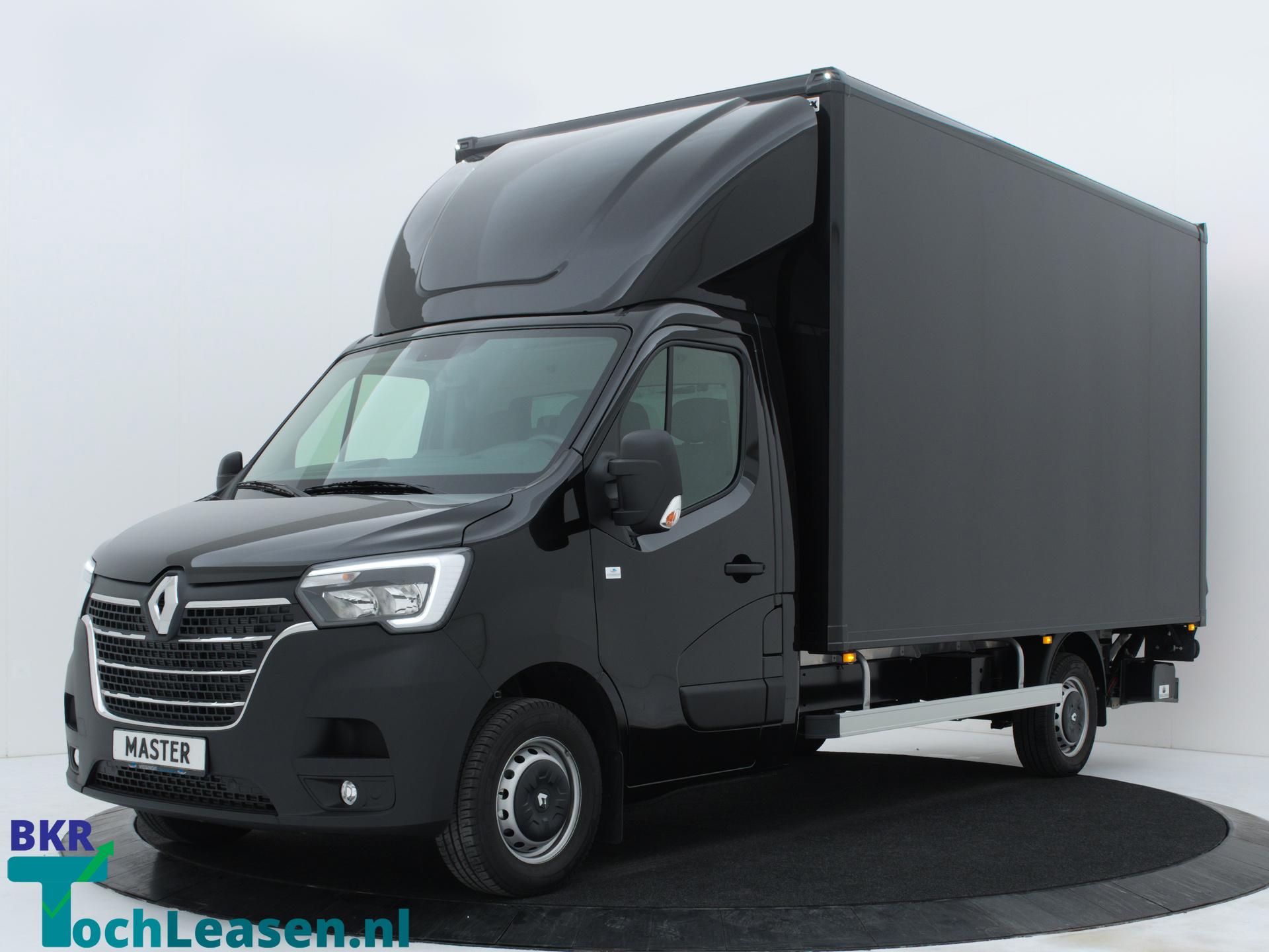 Renault Master bakwagen voorkant zwart BKR toch Leasen