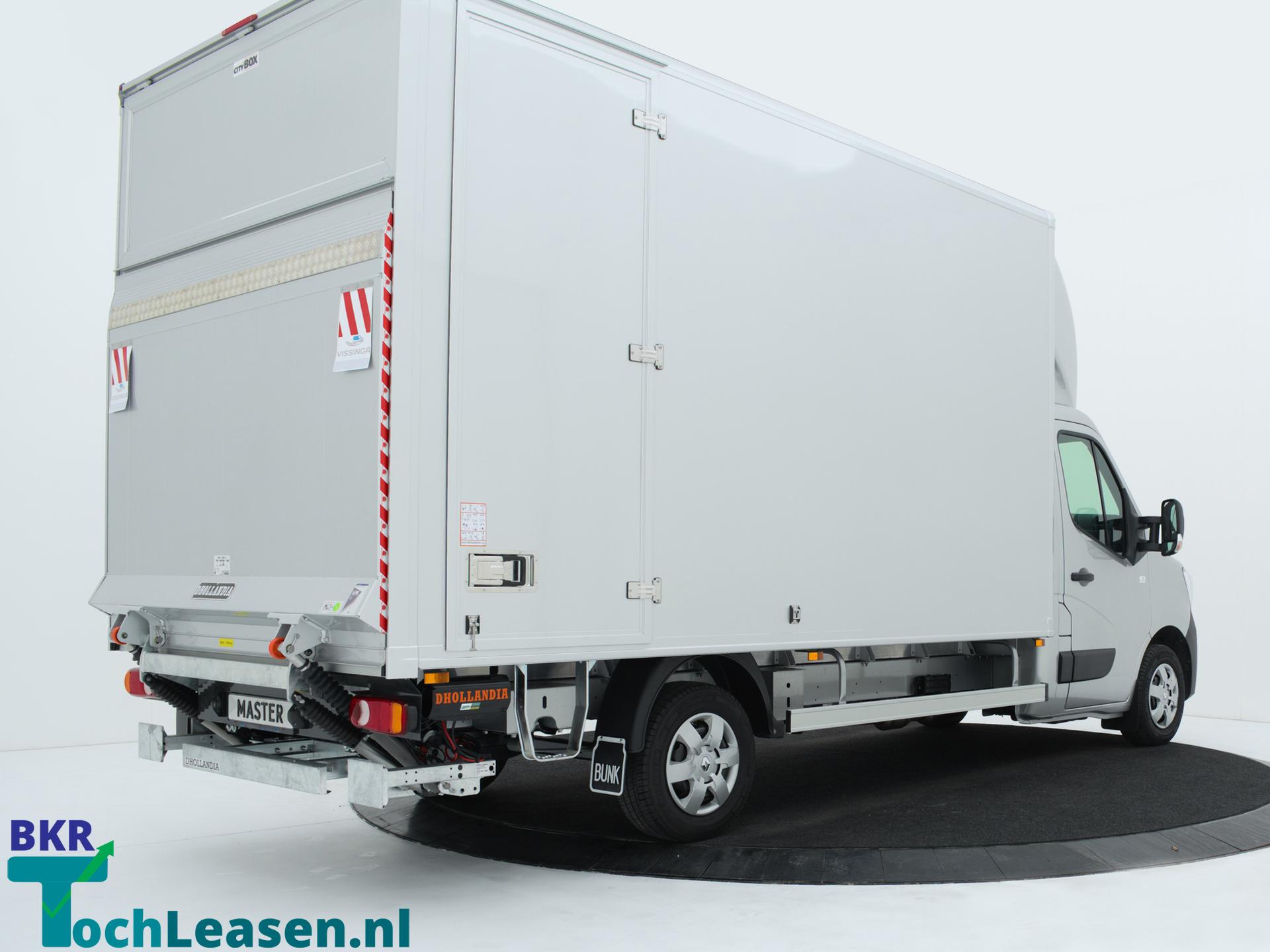 Renault Master bakwagenachterkant zilver BKR toch Leasen