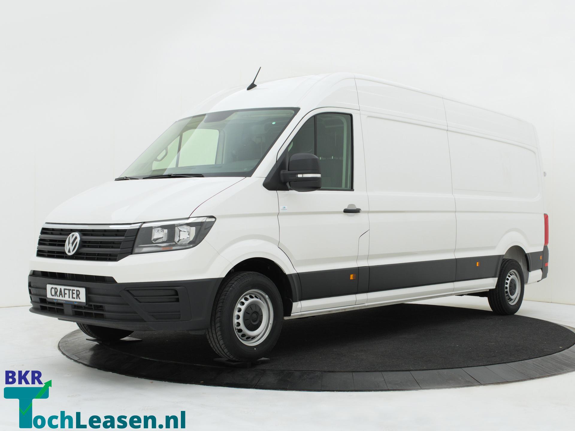 BkrTochLeasen.nl - Witte Volkswagen Crafter 1