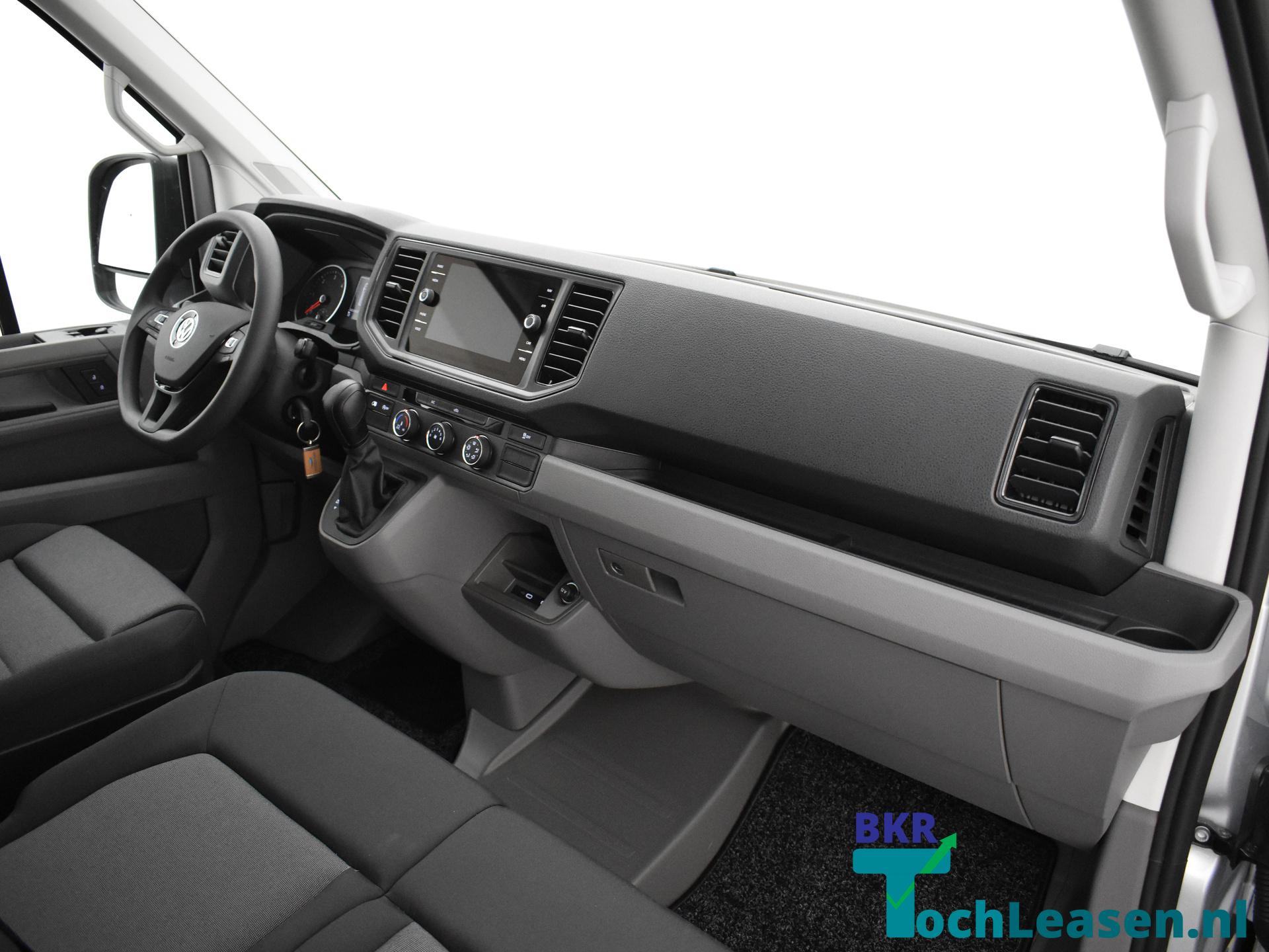 Volkswagen Crafter Zilver BKR Toch leasen 2