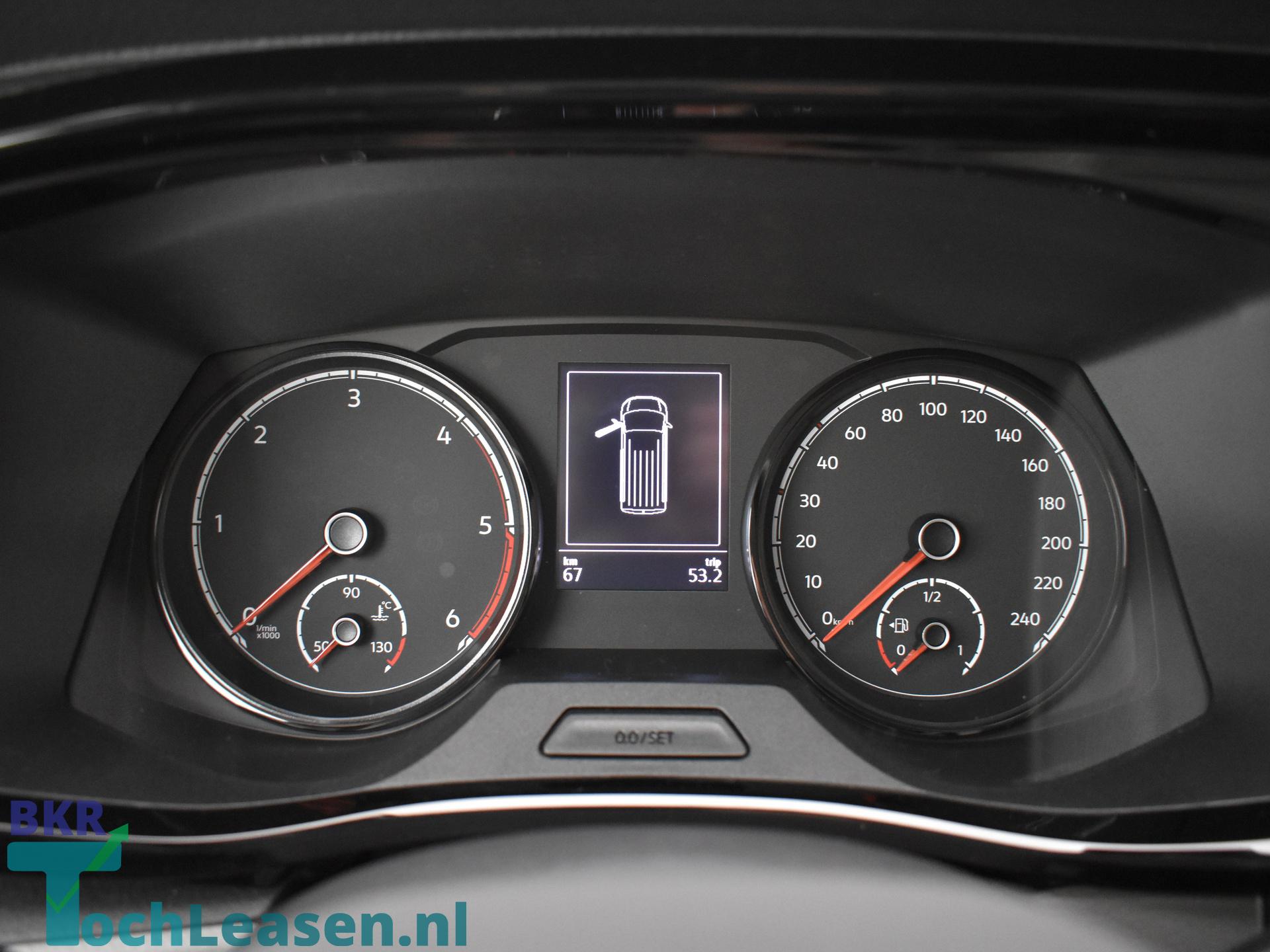 BKR toch leasen Volkswagen Transporter zwart 14