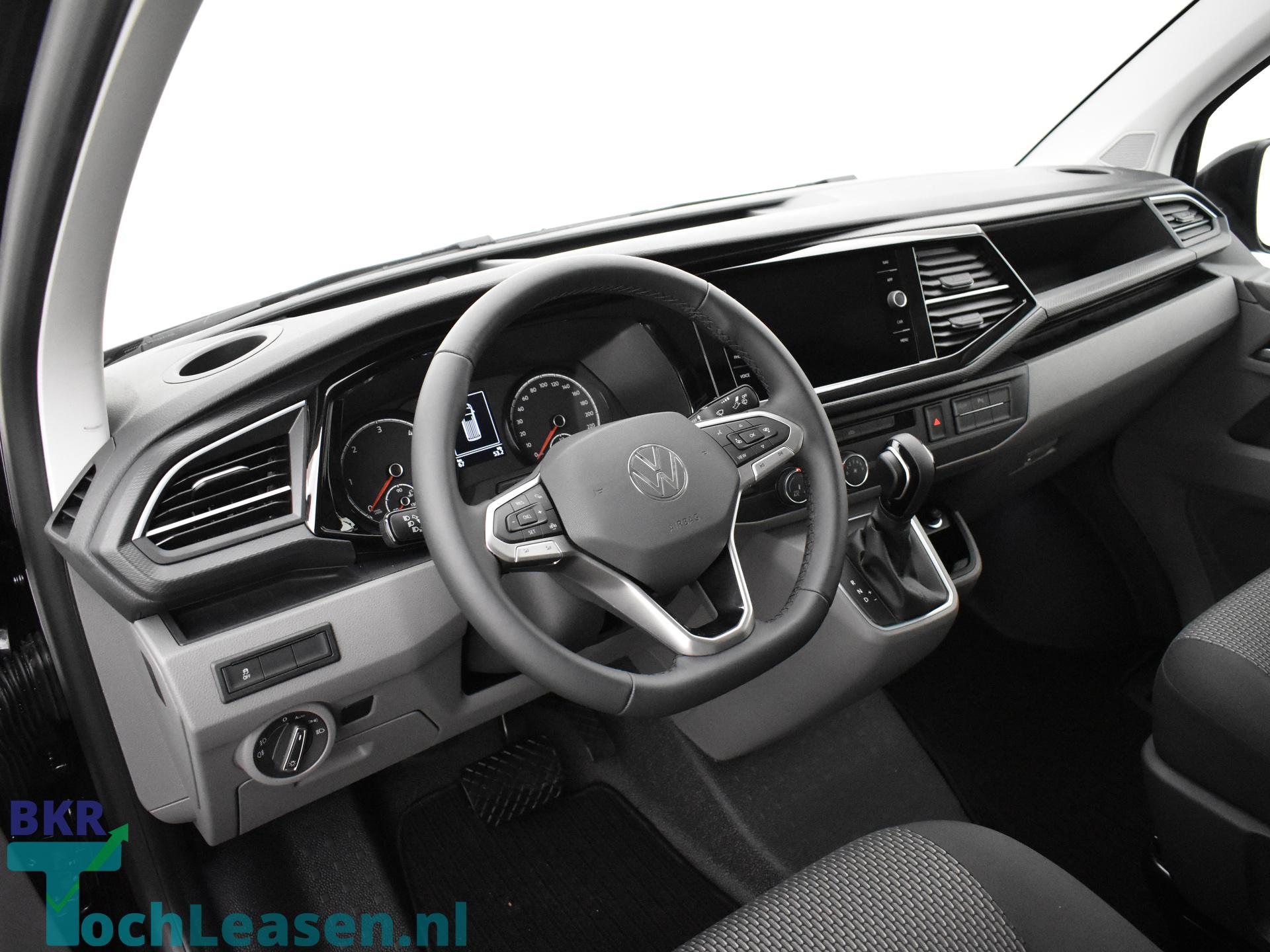 BKR toch leasen Volkswagen Transporter zwart 3