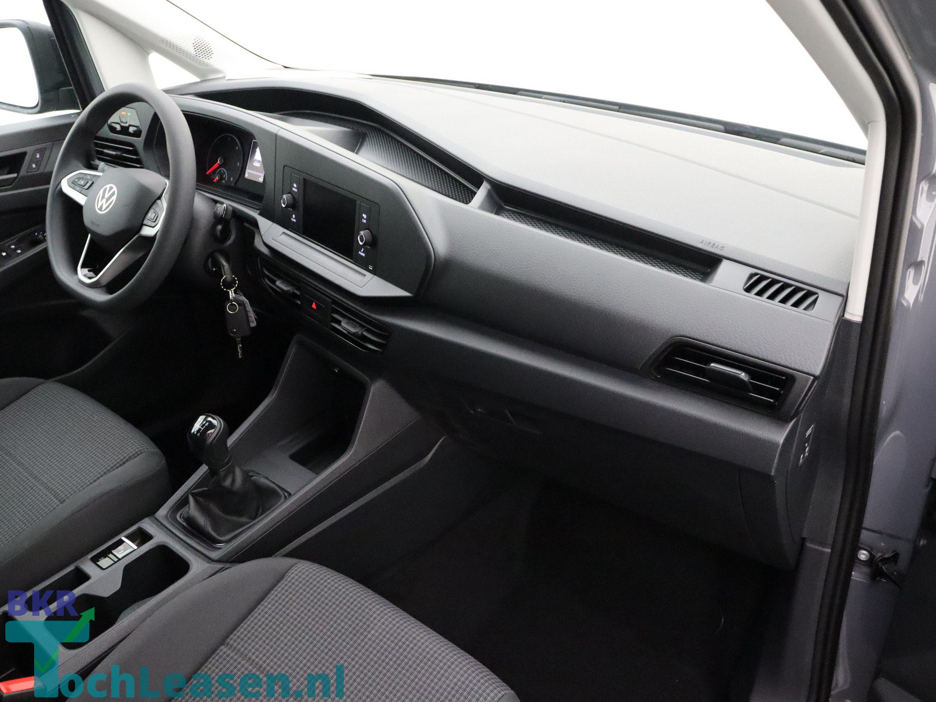 BKR toch leasen - Volkswagen Caddy - Grijs 11