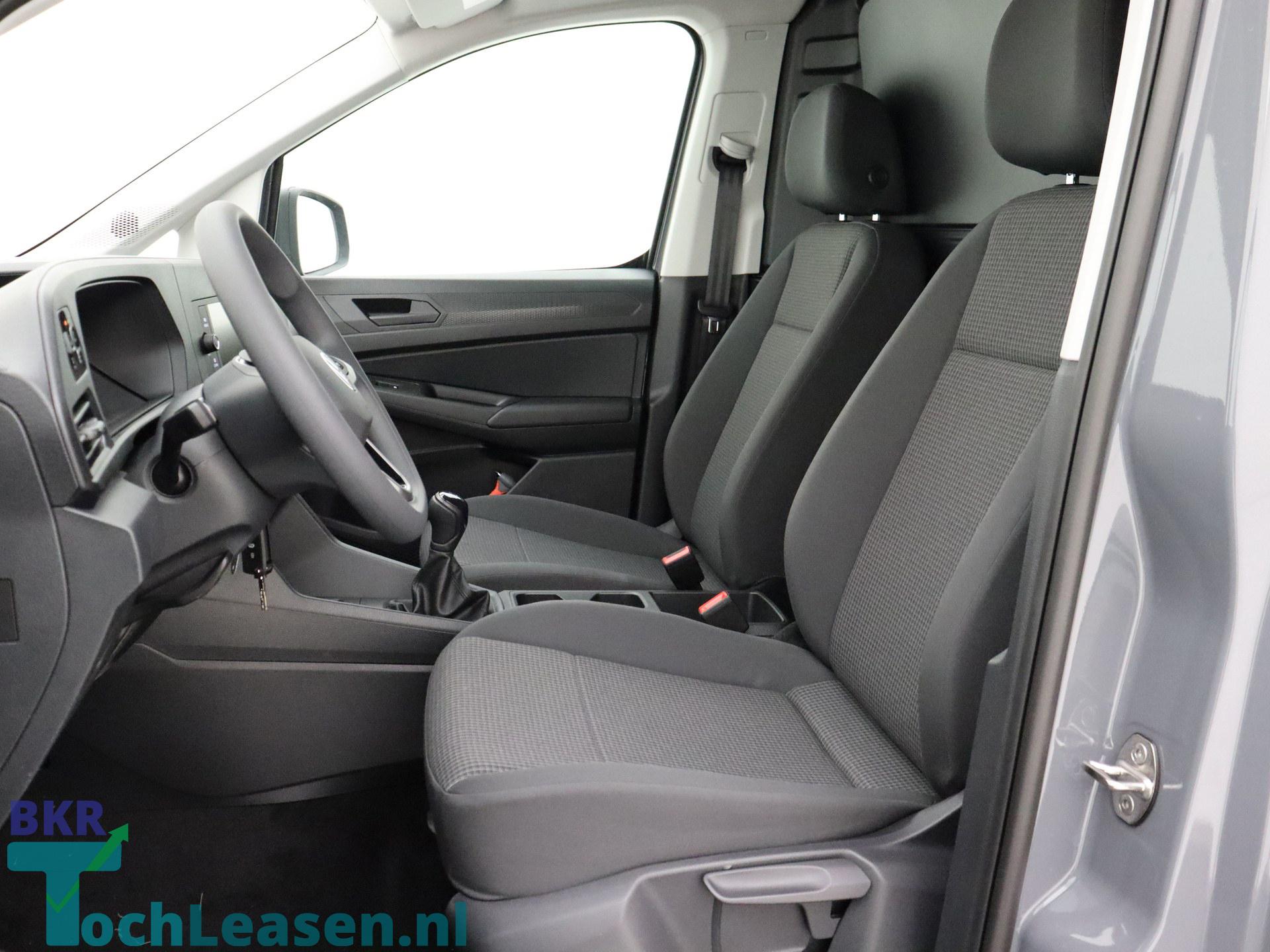 BKR toch leasen - Volkswagen Caddy - Grijs 12