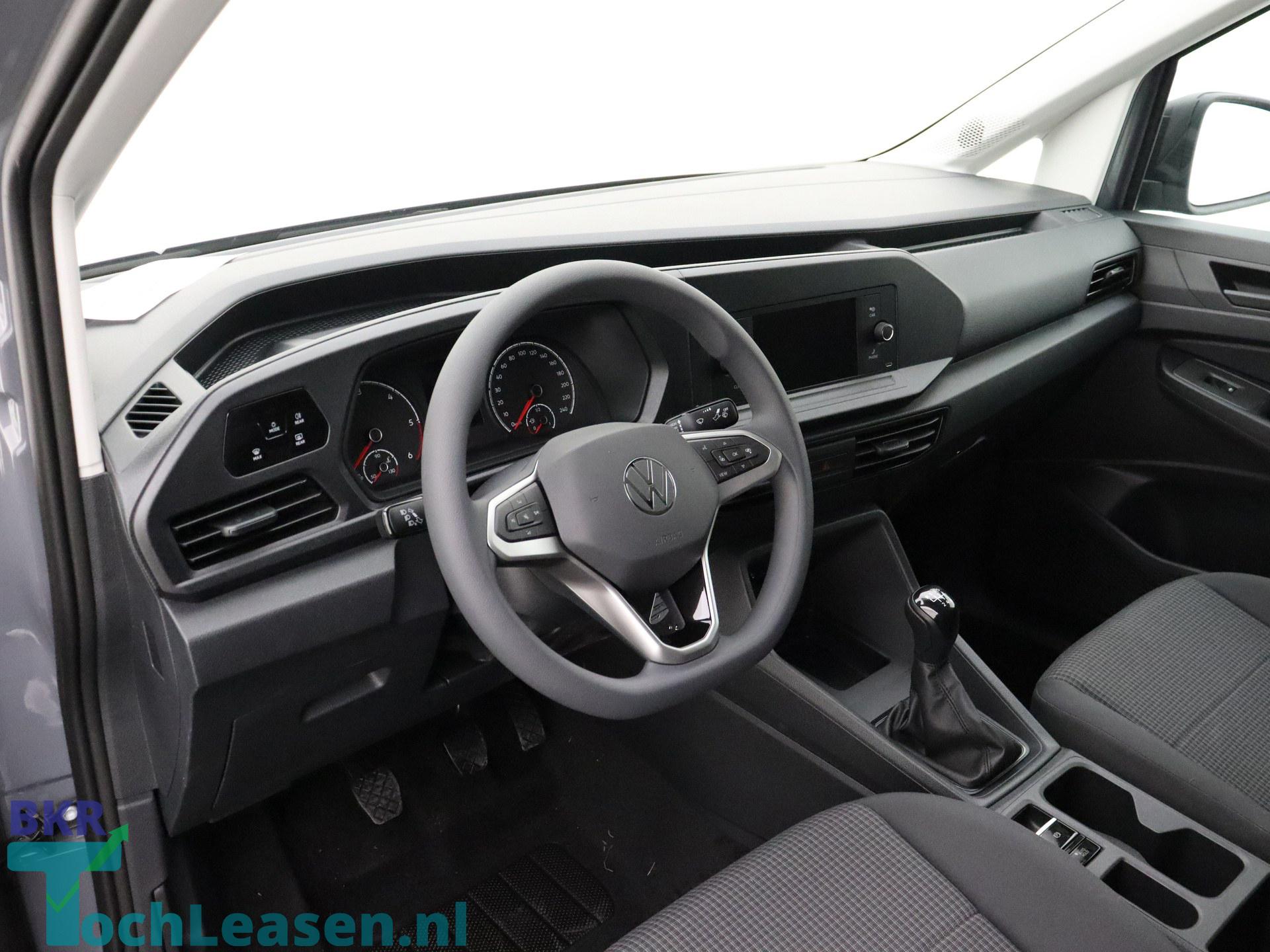 BKR toch leasen - Volkswagen Caddy - Grijs 3