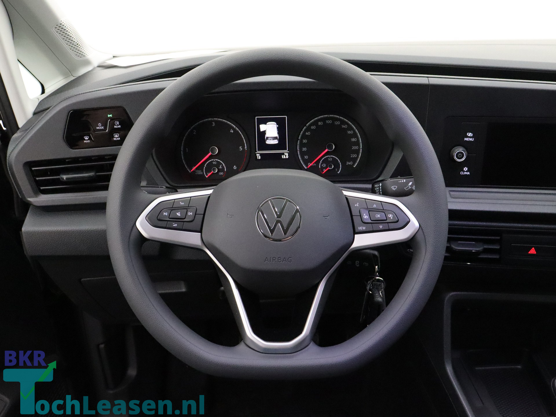 BKR toch leasen - Volkswagen Caddy - Grijs 4