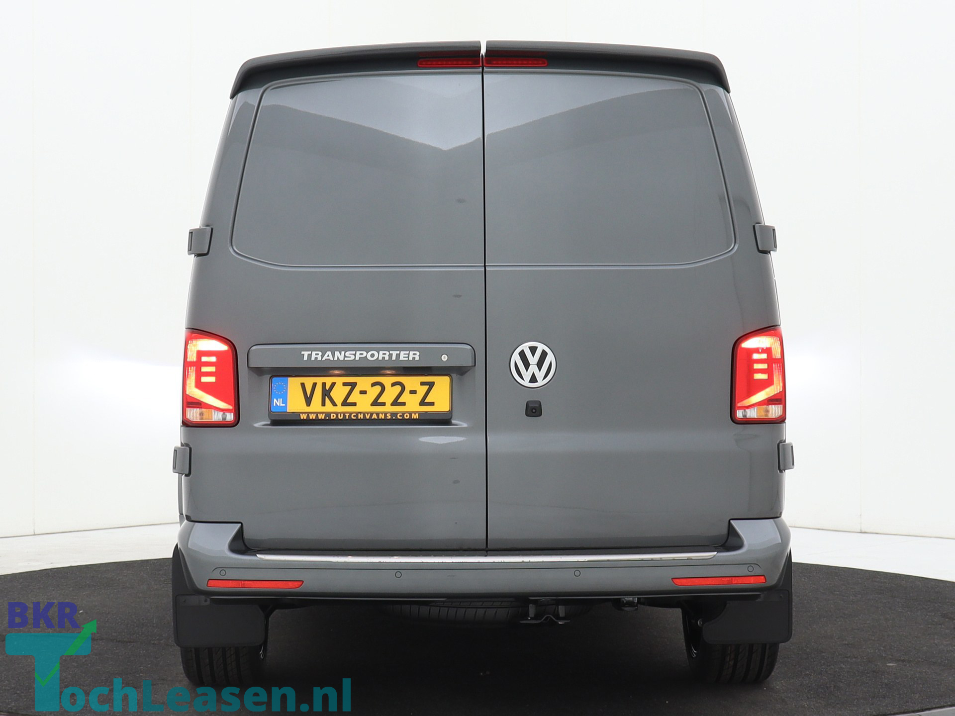 BKR toch leasen - Volkswagen Transporter - Grijs 3