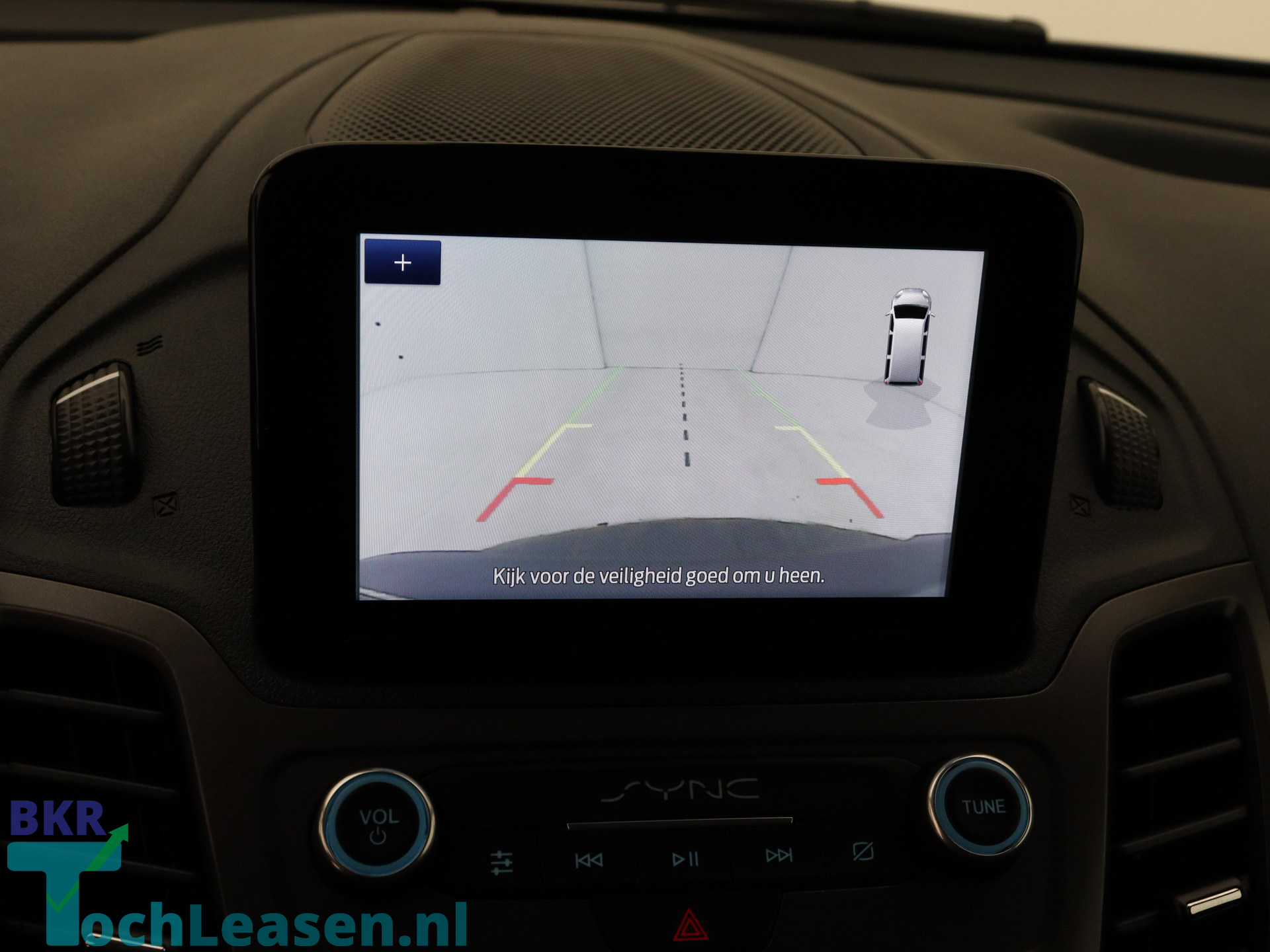 BKRTochleasen - Ford Transit Connect - Zilver 11